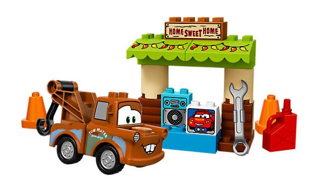 LEGO DUPLO (10856) Cars Bärgarns Skjul