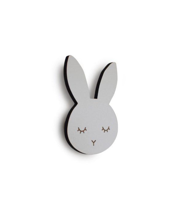 Bunny sleepy knage (hvid) - maseliving, 10 stk. på lager fra Maseliving fra pixizoo