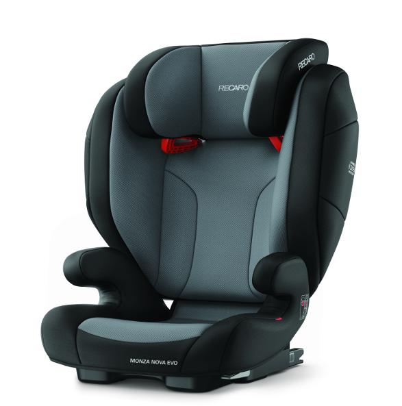 Recaro Monza Nova Evo Bilbarnstol - Carbon Black