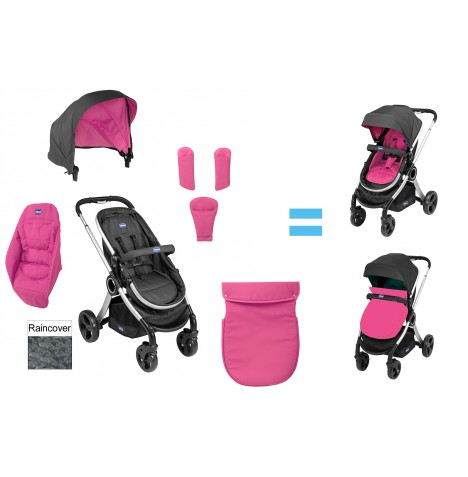 Chicco Urban Textilpaket Colourpack - Cherry