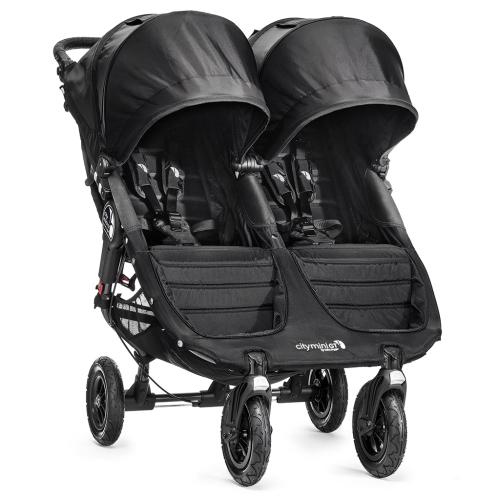 Baby jogger city mini gt double - sort , +10 stk. på lager fra Baby jogger på pixizoo