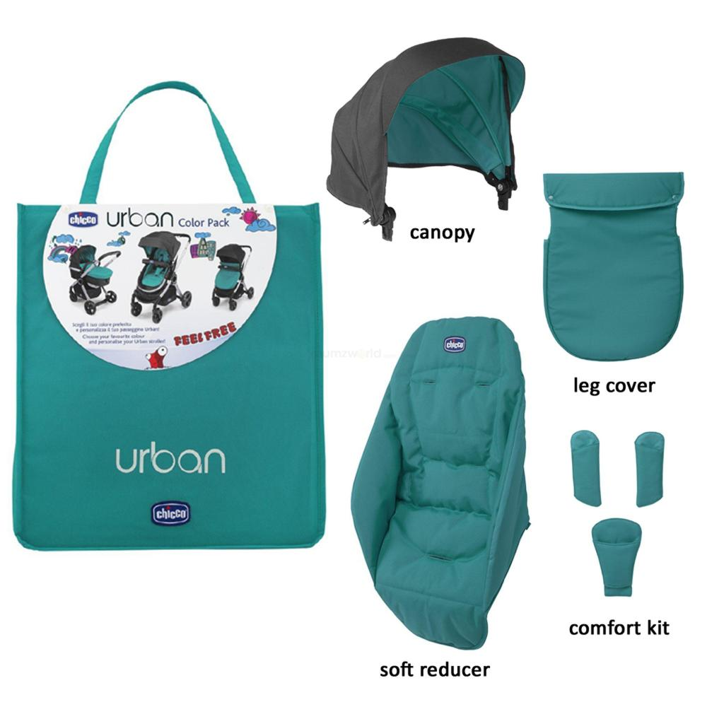 Chicco Urban Textilpaket Colourpack - Emerald