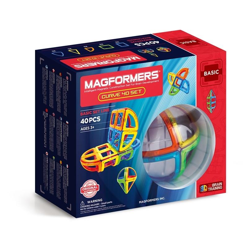 Magformers Curve 40 Delar
