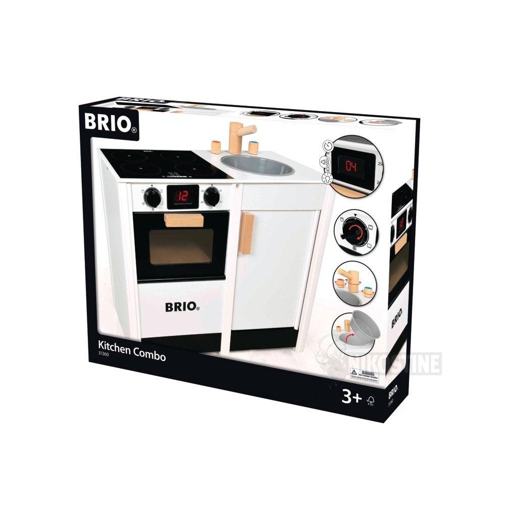 Topmoderne BRIO Komfur med vask, digitalt display - 31360 - 100% Prisgaranti LQ-14