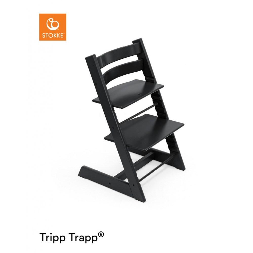 Tripp Trapp højstol sort