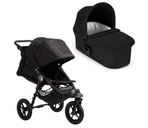 Baby Jogger City Elite inkl deluxe pram - Sort