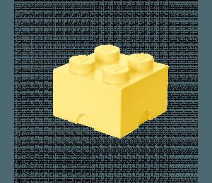 LEGO Opbevaringskasse 4 - Lysgul