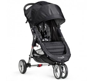 Baby Jogger City Mini Single - Sort/Grå