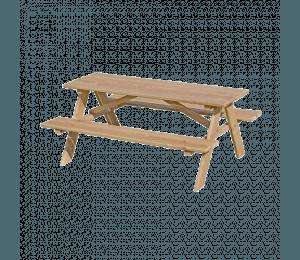 Nordic Play Børne bord-/bænksæt - Lærk