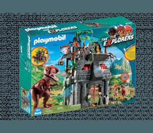Playmobil T-rex Tempel