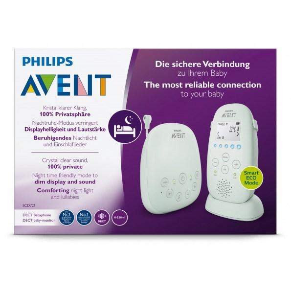 Philips Avent, PH Baby Monitor SCD721 Babyalarm