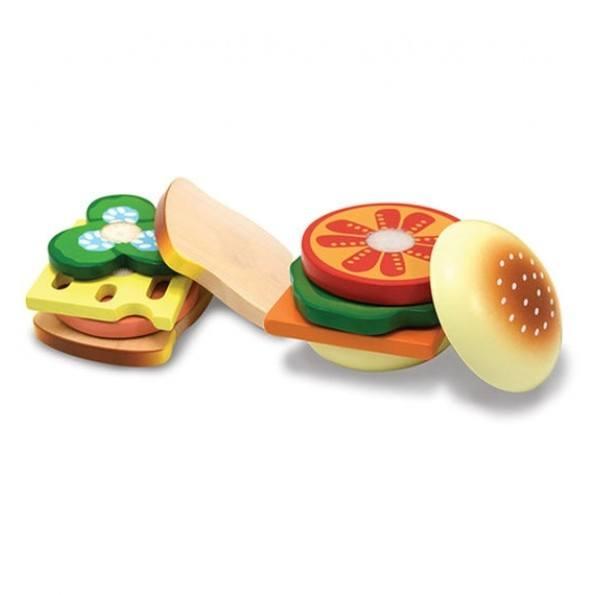 Melissa & Doug Sandwich Sæt - Multi