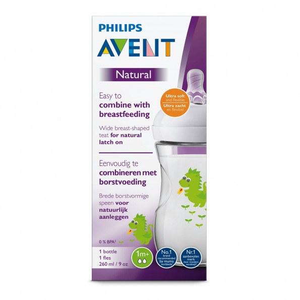 Philips Avent Sutteflaske 260ml - Drage