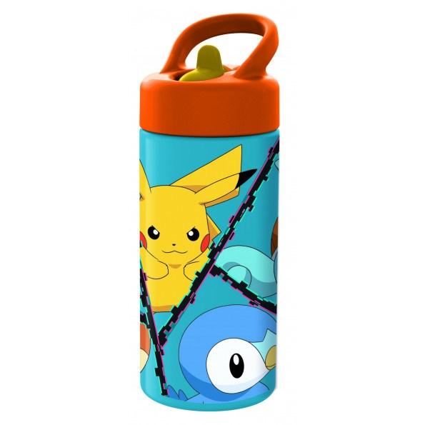 Pokémon drikkedunk, 410ml. - Blå