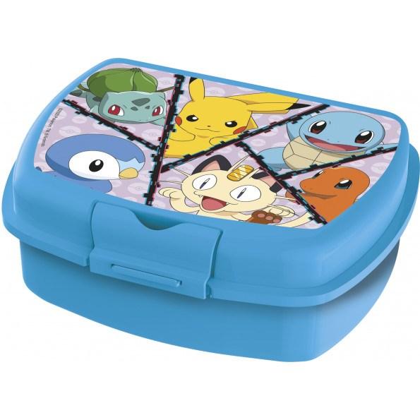 Pokémon madkasse - Blå