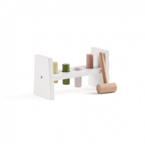 Kids Concept Edvin hammerbræt - hvid