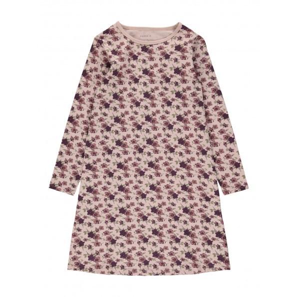 Name It langærmet natkjole - Deco Rose