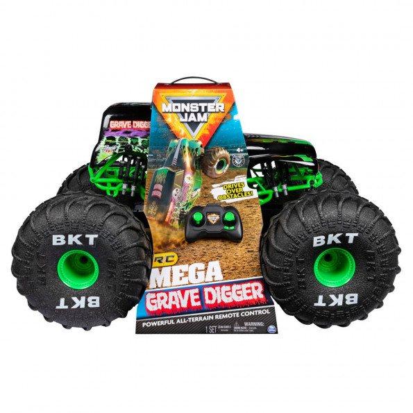 Monster Jam RC Mega Grave Digger