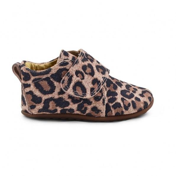 Pom Pom hjemmesko - Rose Leopard
