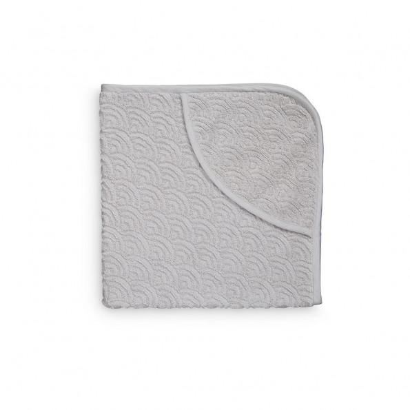 Cam Cam Babyhåndklæde med Hætte - Grey