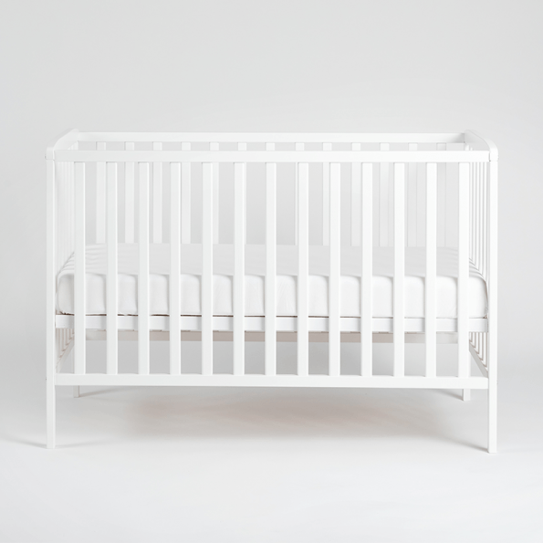 Tiny Republic Pixi tremmeseng 120x60 cm - hvid