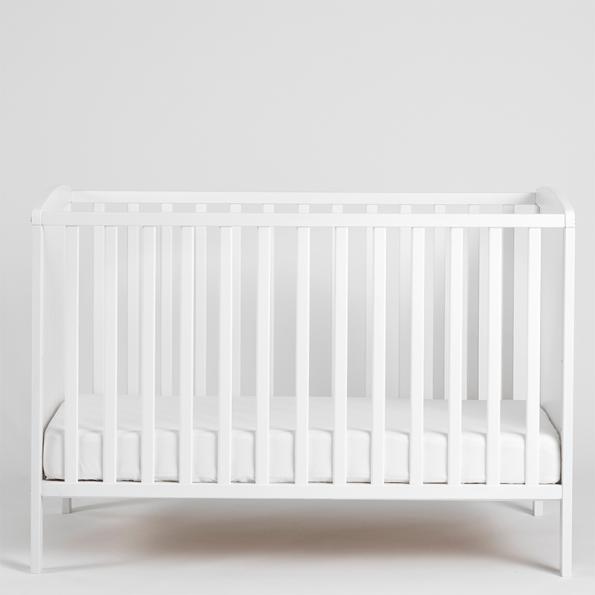 Tiny Republic Nora tremmeseng 120x60 cm - hvid