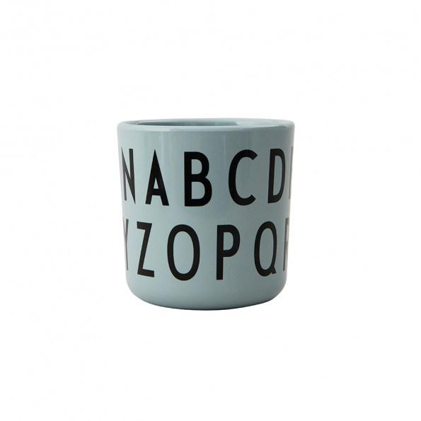 Design Letters ABC melaminkop - grøn