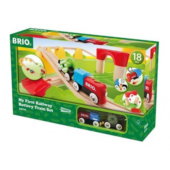 BRIO - Min Første Togbane med Batteritog - 33710