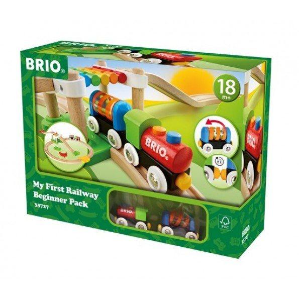BRIO World - Min Første Togbane - Udvidet - 33727