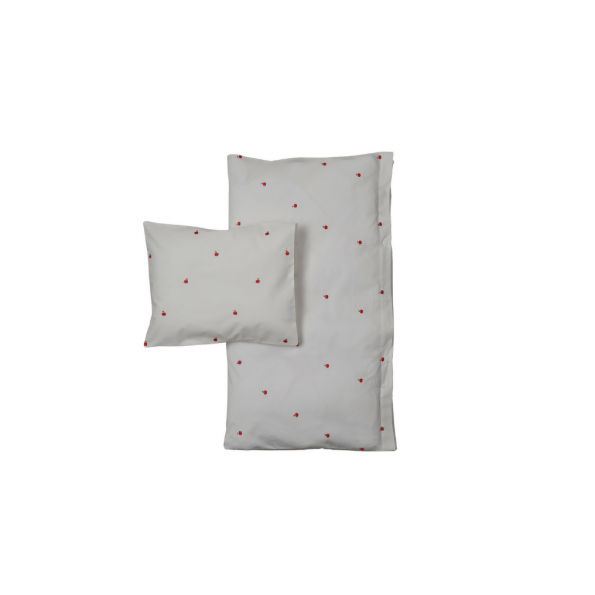Garbo & Friends junior sengetøj - Apple - 100x140 cm.