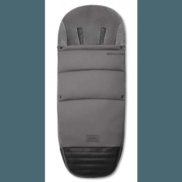 Priam Footmuff - Manhattan Grey Tilbehør til klapvogn