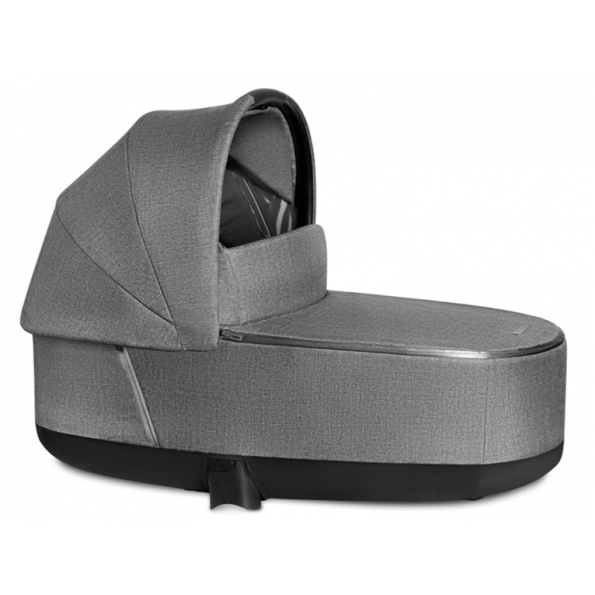 Priam Lux Carry Cot - PLUS Manhattan Grey