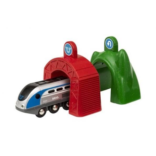BRIO Smart Tech Togbane m. Action-Tunneller - 33873