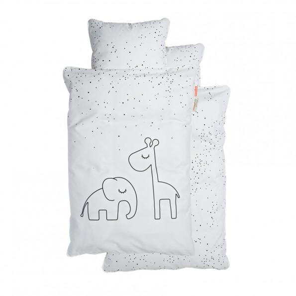 Done by Deer babysengetøj Dreamy dots - hvid - 70x100 cm.