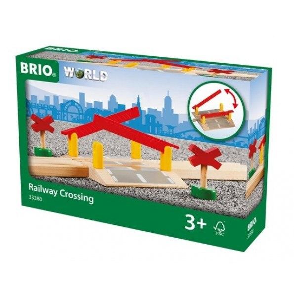 BRIO World - Jernbaneoverskæring - 33388