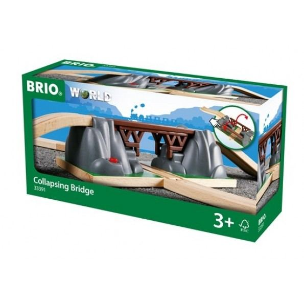 BRIO World - Kollapsende bro - 33391