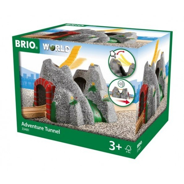 BRIO World - Eventyrtunnel med lyde - 33481