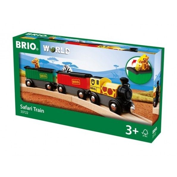 BRIO World - Safari Tog - 33722