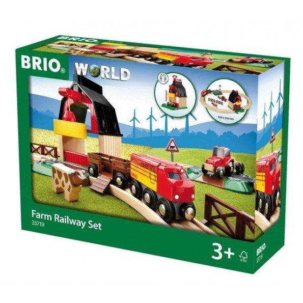 BRIO World - Togbane - Bondegård-på-landet Sæt - 33719