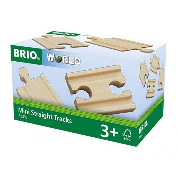 BRIO World - Lige skinner - Mini - 33333