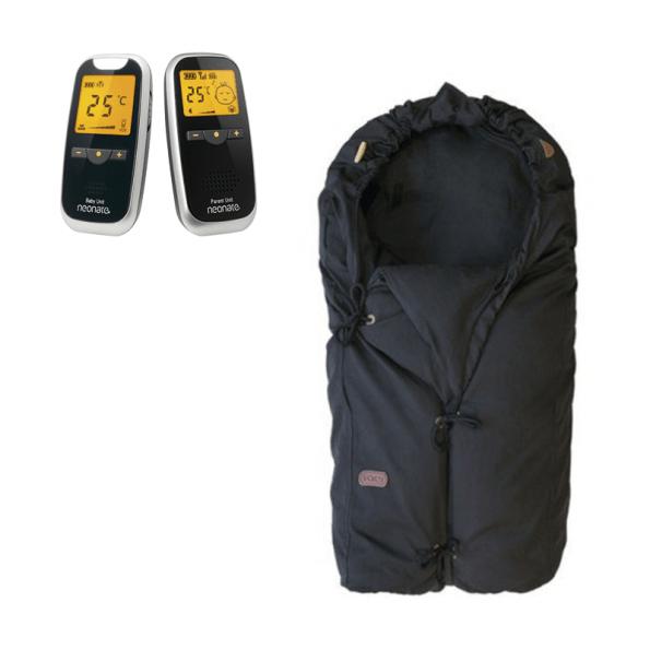 Neonate BC5800D Babyalarm + Voksi Classic+ Mini - Black