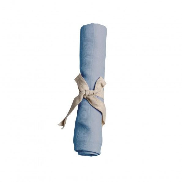 Filibabba Muslin stofble - powder blue
