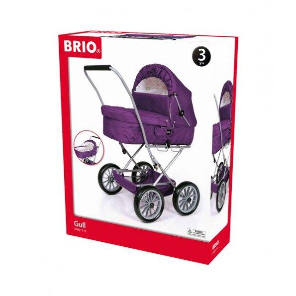 BRIO Gull dukkevogn - lilla - 24891110