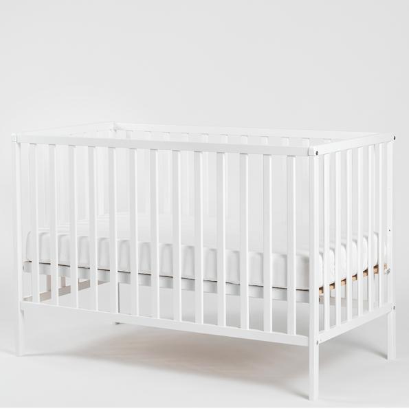 Tiny Republic Agnes tremmeseng 120x60 cm - hvid