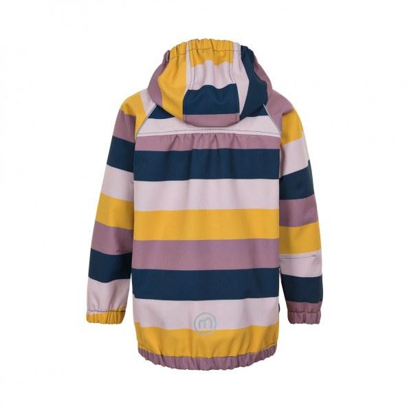 Minymo softshell jakke - burnished lillac
