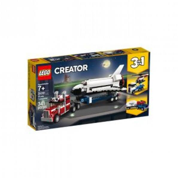 LEGO Creator, Rumfærgetransporter - 31091