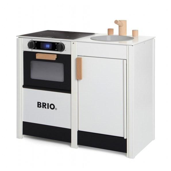 BRIO Komfur med vask, digitalt display - 31360