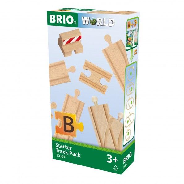 BRIO World - Startpakke Skinner - 13 dele - 33394