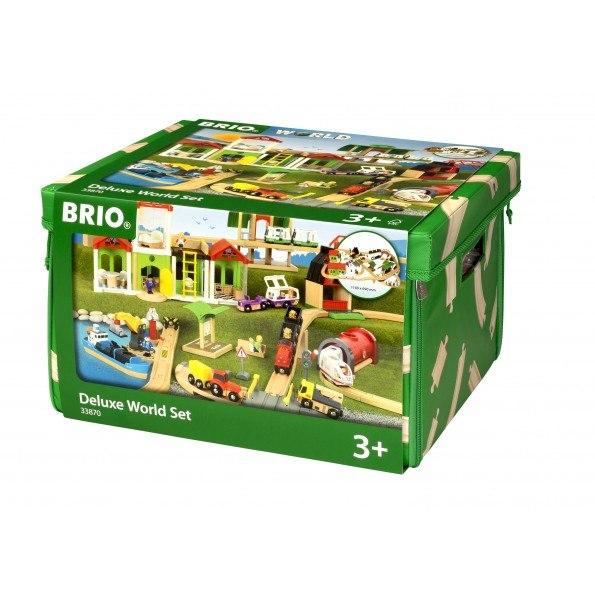 BRIO World - Togbane - Deluxe World Sæt - 33870