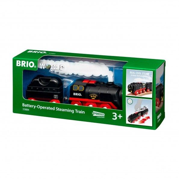 BRIO batteridrevet damptog - 33884